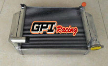 Load image into Gallery viewer, 3 Row crossflow Aluminum Radiator For MG MGB BASE 1.8L 1962-1967 63 64 Manual