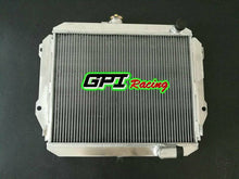 Load image into Gallery viewer, Aluminum radiator for DAIHATSU ROCKY F7 F8 2.8D 2.8TD DL DLT manual 1985 on