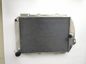 62MM FOR CHEVY HOT/STREET ROD 6 CYL. W/TRANNY COOLER 1938 MT ALUMINUM RADIATOR