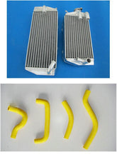 Load image into Gallery viewer, aluminum radiator& silicone hoses FOR Suzuki RM-Z450 RMZ450 RMZ 450 2005