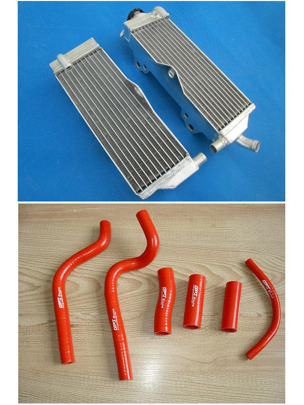 FOR HONDA CR500R CR500 1991  1992 1993 1994 1995 1996 1997 1998 1999 2000 2001 Aluminum Radiator & hose