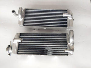 Aluminum radiator FOR KAWASAKI KX500 KX 500 1985 1986