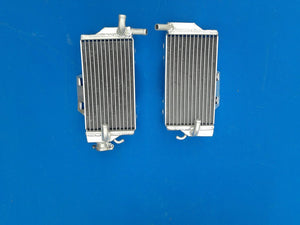 Right+Left aluminum radiator for Honda CR 250 R/CR250R 2005 2007 2006