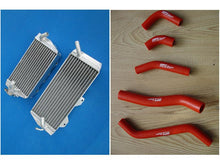 Load image into Gallery viewer, FOR Kawasaki KX450F KXF450 KX 450 F 2006 2007 2008 aluminum radiator+ Y hose