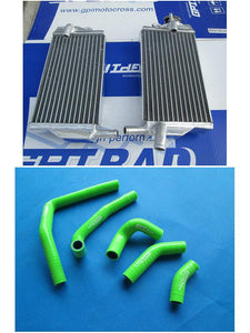 Aluminum radiator +  HOSE FOR Honda CR250 CR250R CR 250R  2002 2004 2003