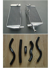 Load image into Gallery viewer, aluminum radiator and hose for Honda CR 125 R CR125R 2-STROKE 1989