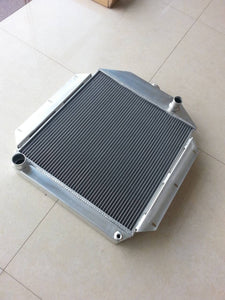 62mm aluminum radiator for FORD CAR w/302 5L V8 1949 1950 1951 1952 1953 Manual
