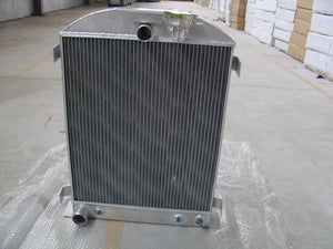 FOR Ford truck hot rod w/305 V8 engine 1932 32 aluminum radiator 3 ROW