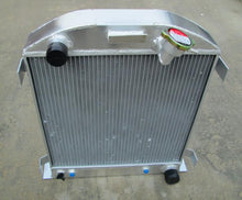 Load image into Gallery viewer, 3 ROW Auminum radiator FOR Ford 1932 hot rod w/Chevy 350 V8 engine