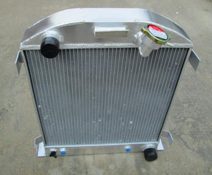 3 ROW Auminum radiator FOR Ford 1932 hot rod w/Chevy 350 V8 engine