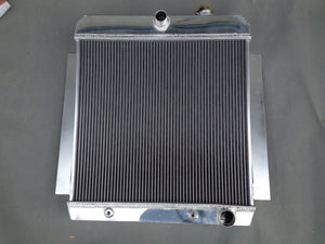 56MM CORE FOR 1955-1959 CHEVY PICK UP TRUCK V8 ALUMINUM RADIATOR 1956 1957