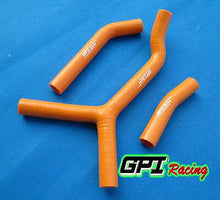 Load image into Gallery viewer, FOR KTM 250 SX S 2003 2004 2005 2006 silicone radiator hose orange