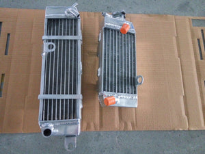 Right+Left Aluminum Alloy Radiator Fit YAMAHA DT230 Lanza DT 230