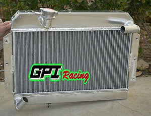 56MM FOR MG MGA 1500 1600 1622 DE LUXE 1955-1962 1961 1960 ALUMINUM RADIATOR