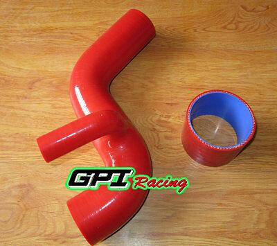 For Subaru WRX/STI EJ20 ver1-2 GC8/GF8 92-96 SILICONE INTERCOOLER HOSE RED