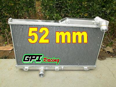 52MM ALUMINUM ALLOY RADIATOR FOR MAZDA RX7 FD3S MT 1992-1995