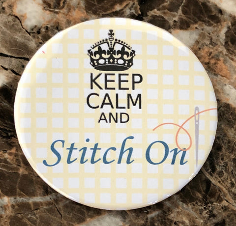 Keep Calm Stitch On Needleminder