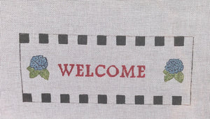 Welcome Needlepoint Canvas