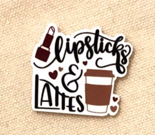 Lipsticks and Lattes Needleminder