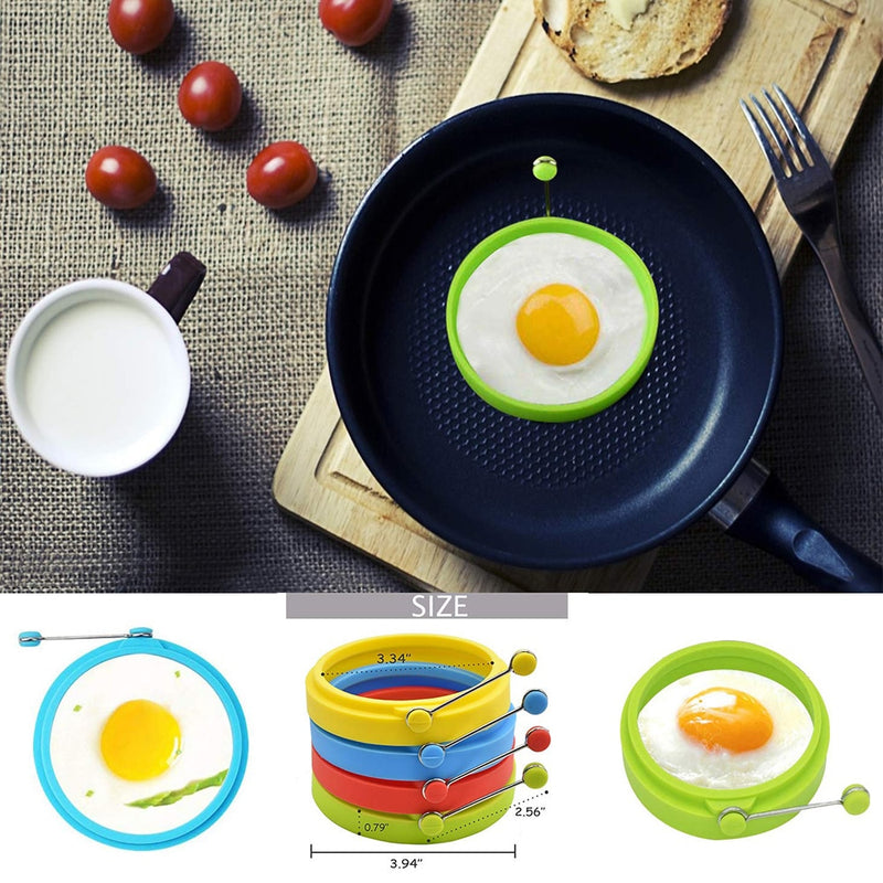 Silicone Round Egg Rings