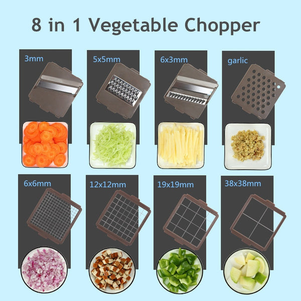 Vegetable Chopper Pro - Vegetable Choppers -  - Arezel.com