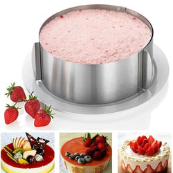 Retractable Cake Mold - Cake Tools -  - Arezel.com