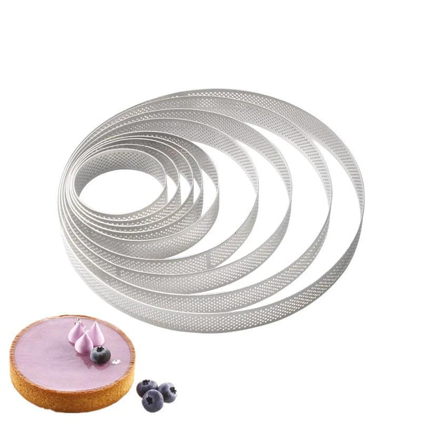 Tarlet & Fruit Pie Round Moulds - Cake Decoration Tools & Moulds -  - Arezel.com