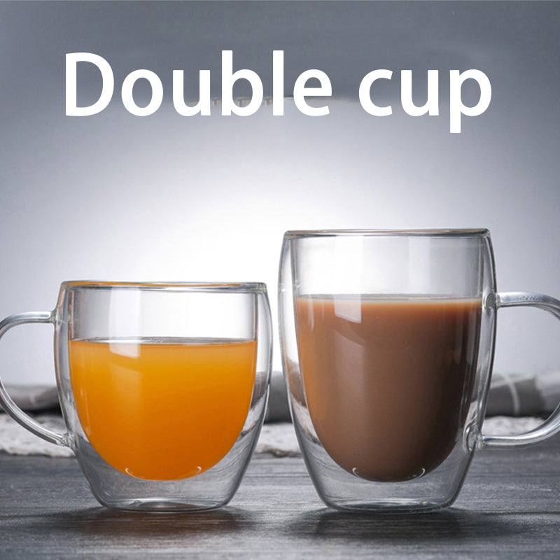 Double Layered Cups - Milk Mugs -  - Arezel.com