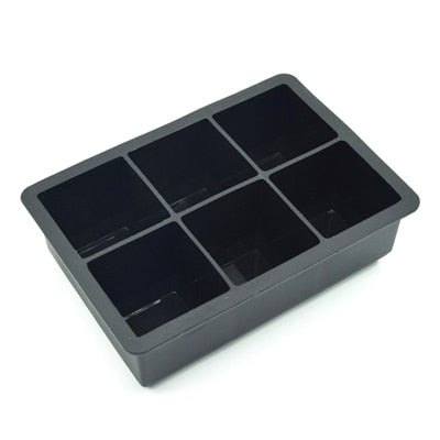 Large Ice Cube Moulds - Moulds & Party Accessories - Square Ice Mold - Arezel.com