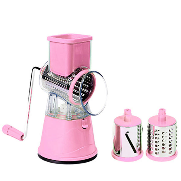 MagicSlice - Easy Vegetable & Fruit Grater - Fruit & Vegetable Tools - pink - Arezel.com
