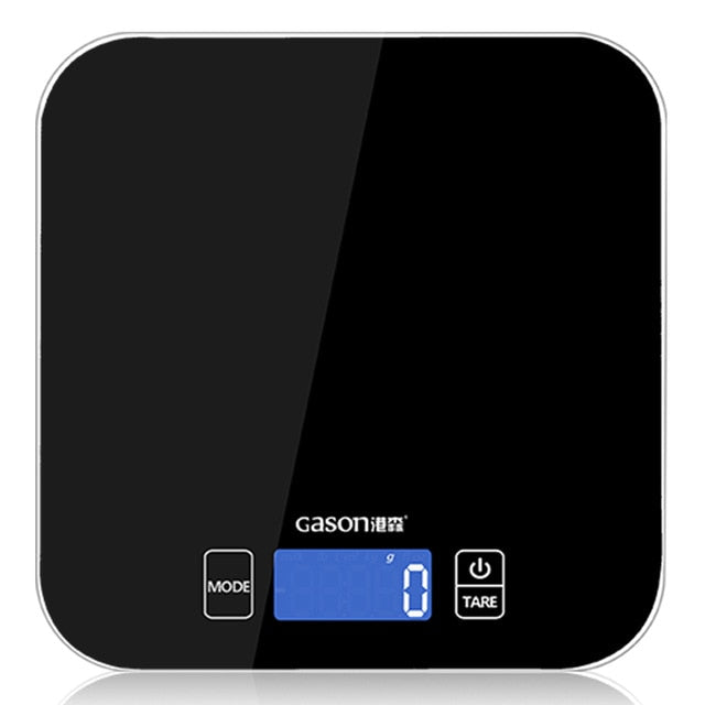 Electronic Mini Kitchen Scale - Electronic Kitchen Scales - black - Arezel.com