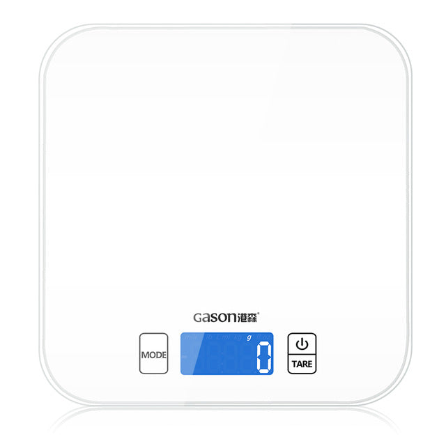 Electronic Mini Kitchen Scale - Electronic Kitchen Scales - white - Arezel.com
