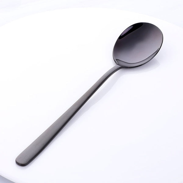 PARIS SPOON - Flatware - Black - Arezel.com