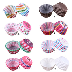 Colorful Paper Cake Cup - Cake Tools -  - Arezel.com
