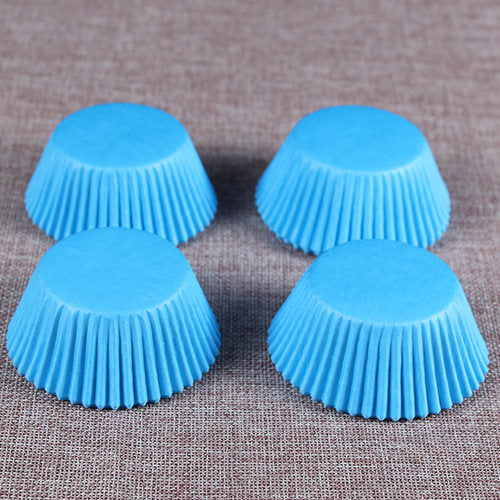 Colorful Paper Cake Cup - Cake Tools - Style 4 / Round - Arezel.com