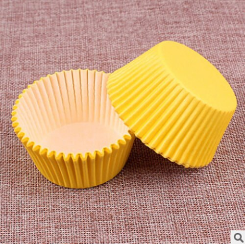 Colorful Paper Cake Cup - Cake Tools - Style 6 / Round - Arezel.com