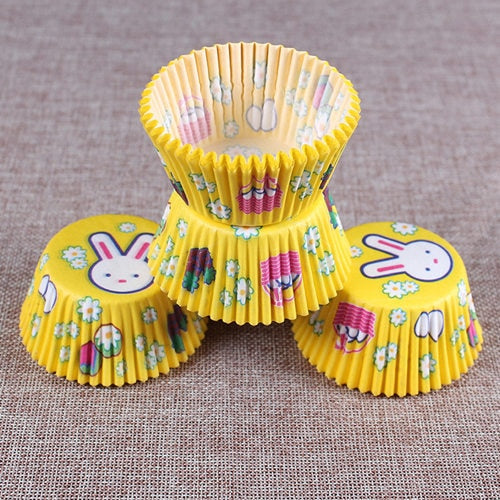 Colorful Paper Cake Cup - Cake Tools - Style 14 / Round - Arezel.com