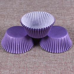 Colorful Paper Cake Cup - Cake Tools - Style 1 / Round - Arezel.com