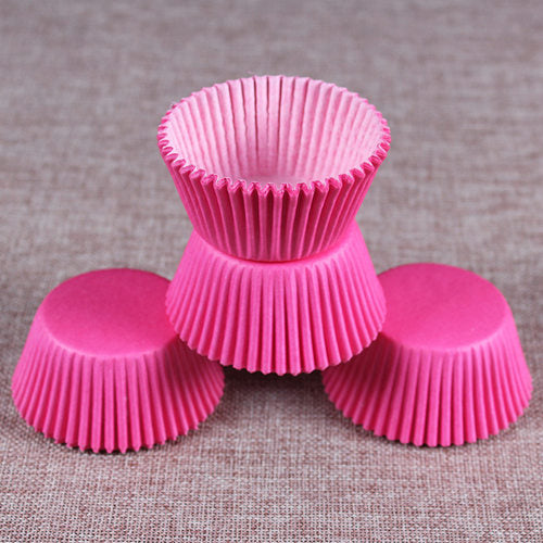 Colorful Paper Cake Cup - Cake Tools - Style 2 / Round - Arezel.com