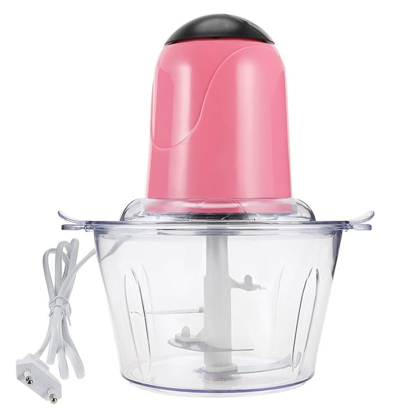 Electric Kitchen Meat Grinder - electric chopper - Pink - Arezel.com