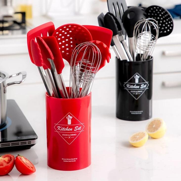 Set Of 9 Cooking Untensil - Cooking Tool Sets -  - Arezel.com