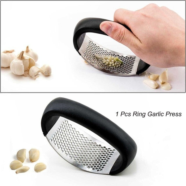 Garlic Press - Garlic Grater - 04 1pcs - Arezel.com