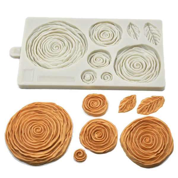 Dense Petal Moulds - Cake Decoration Tools & Moulds -  - Arezel.com
