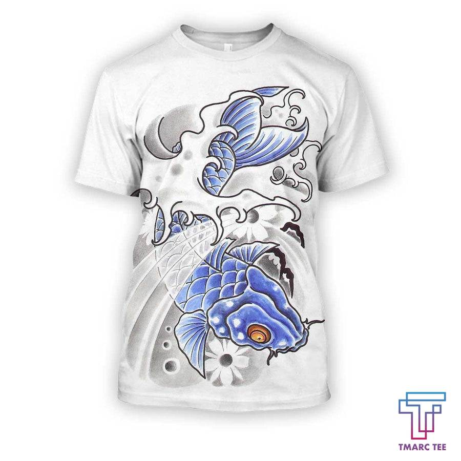 3D all over print dragon carp - Amaze Style™-Apparel