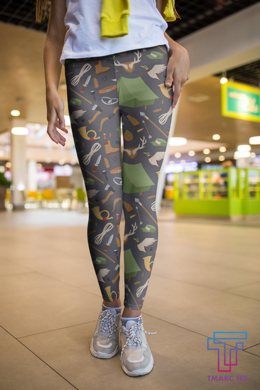 3D All Over Print Hunting Duck Legging - Amaze Style™-Apparel