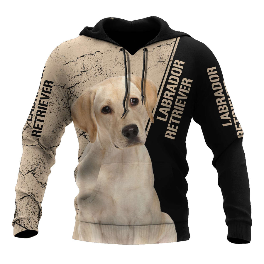 Premium Love Dog Labrador Retriever 3D All Over Printed Unisex Shirts