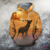 3D All Over Print Deer On Autumn TT - Amaze Style™-Apparel
