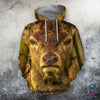 3D All Over Print Deer Hunter Hoodie - Amaze Style™-Apparel