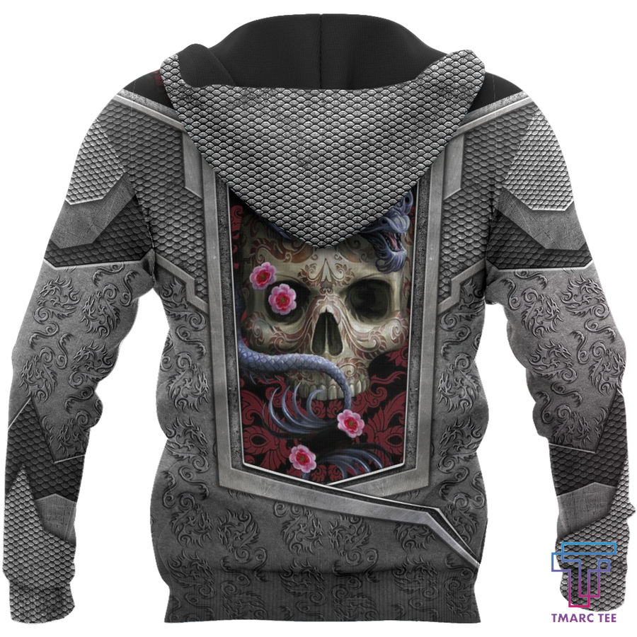 3D Tattoo and Dungeon Dragon Hoodie HAC020110 - Amaze Style™-Apparel