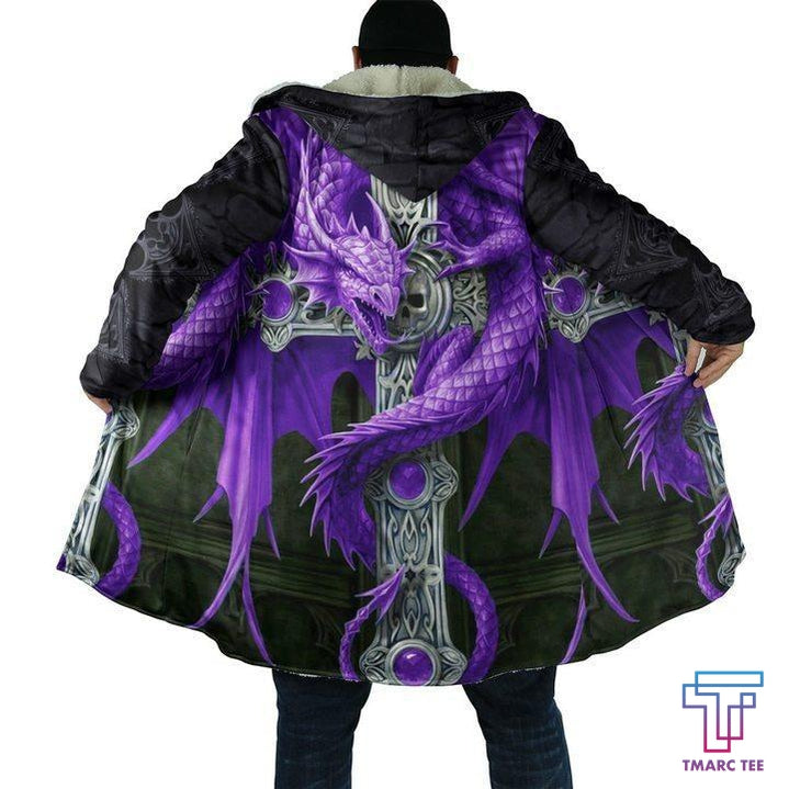 3D Tattoo and Dungeon Dragon Hoodie Coat for Men and Woman NM050924 - Amaze Style™-Apparel